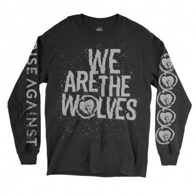 We Are the Wolves Long Sleeve Tee (Black)