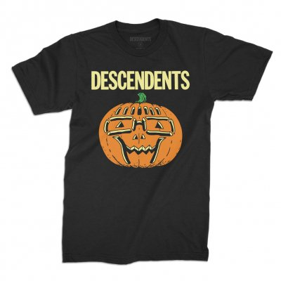 descendents - Ltd. Milo Pumpkin Halloween Glow Tee (Black)