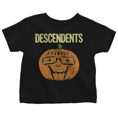 descendents - Ltd. Milo Pumpkin Halloween Glow Youth Tee (Black)