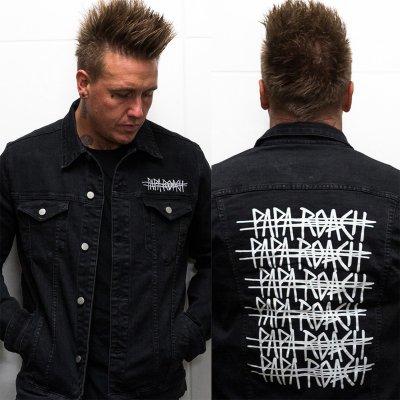 papa-roach - Ltd. Repeater Denim Jacket (Black)