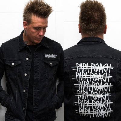 papa-roach - Ltd. Repeater Denim Jacket (Black)