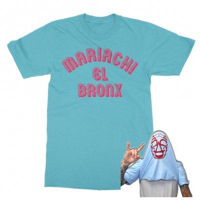 Mariachi El Bronx - Luchador T-Shirt (Baby Blue)