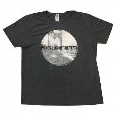 pianos-become-the-teeth - Alps Circle Tee (Heather Black)