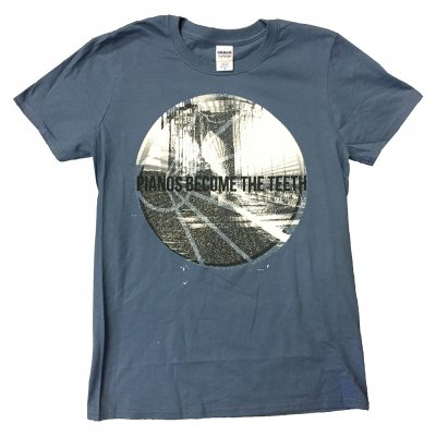 pianos-become-the-teeth - Alps Circle Tee (Indigo)