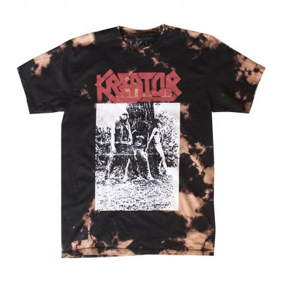 kreator - Vintage Photo T-Shirt (Bleached)
