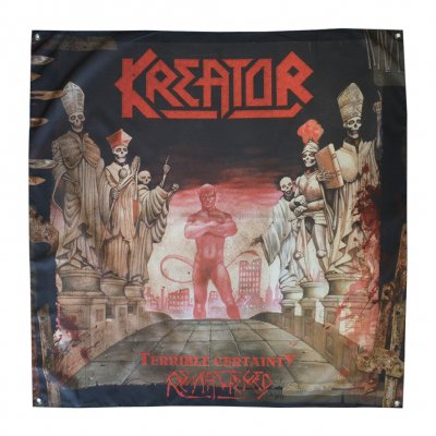 "kreator - Terrible Certainty Flag 48"" x 48"""