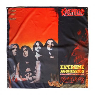"kreator - Extreme Aggression Flag 48"" x 48"""