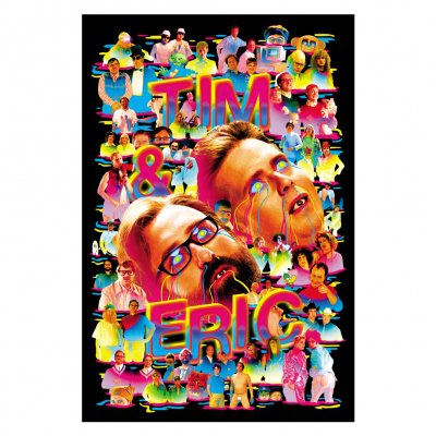 tim-and-eric - 10 Year Annivesary Poster