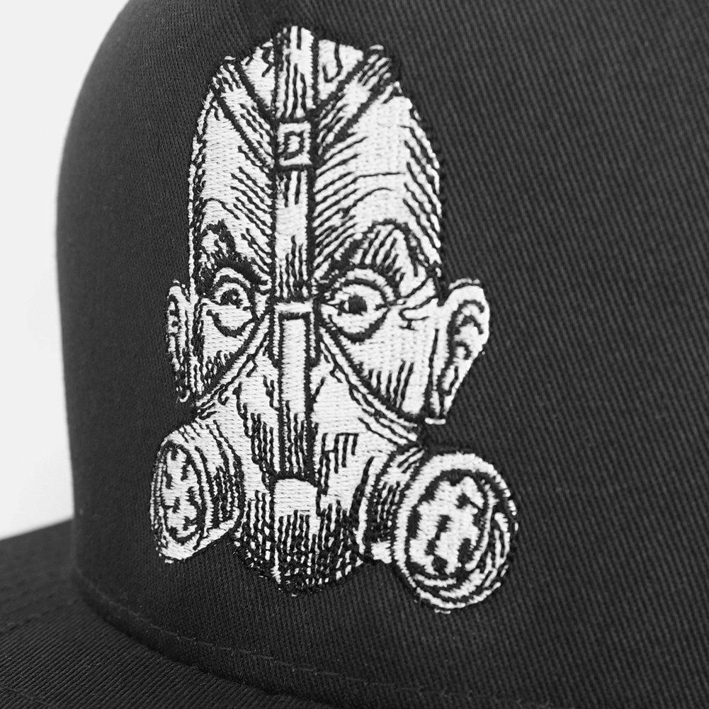 IMAGE   Gas Mask Snap Back Hat