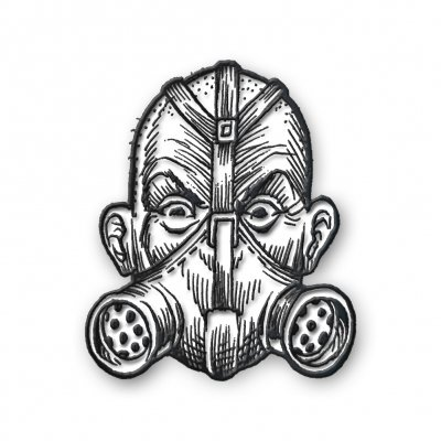 the-transplants - Gas Mask Enamel Pin