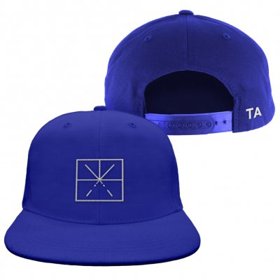 touche-amore - Ltd. Embroidered Logo Hat (Dodger Blue)