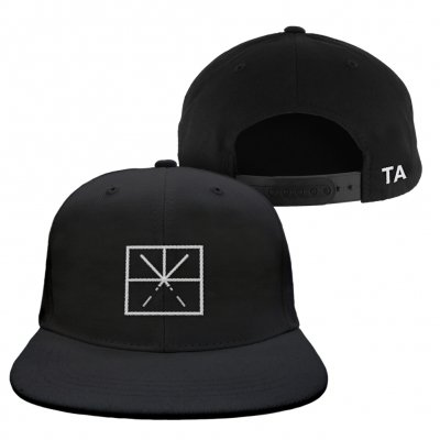 touche-amore - Embroidered Logo Hat (Black)