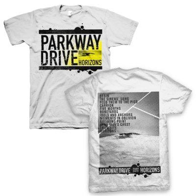 parkway-drive - Ltd. Horizons Album Tee (White)
