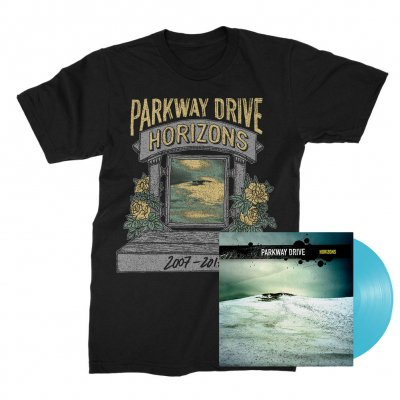 parkway-drive - Horizons LP (Blue) + Ltd. Horizons Shrine Tee (Black) Bundle