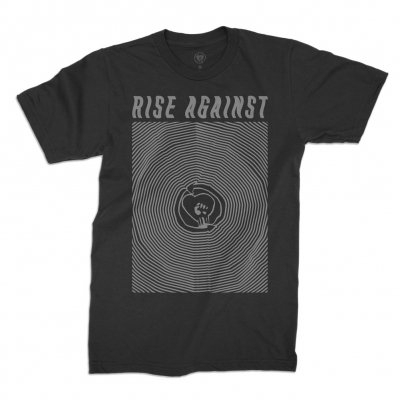 rise-against - Warp Tee (Black)