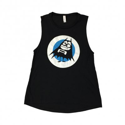 the-aquabats - Blue Dot Women's Muscle Tank (Black)
