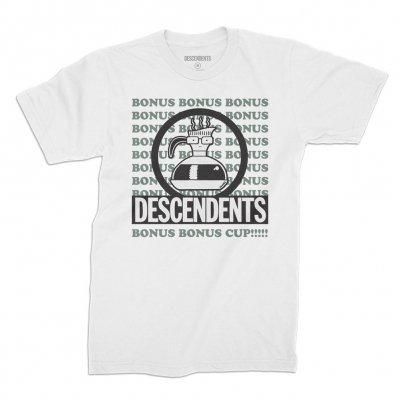 descendents - Bonus Bonus Cup Tee (White)