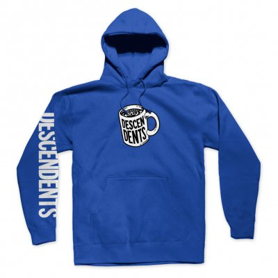 descendents - Coffee Mug Pullover Hoodie (Royal)