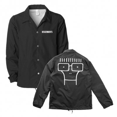 descendents - Classic Milo Windbreaker (Black)
