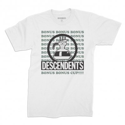 descendents - Bonus Bonus Cup Tee (White)