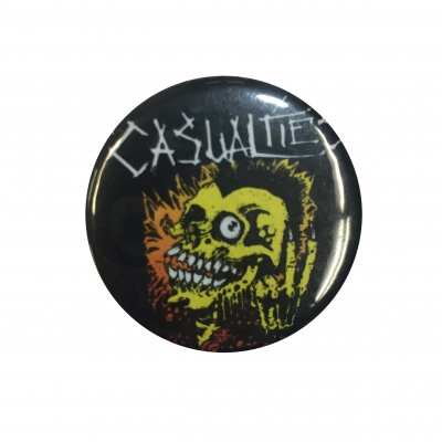 the-casualties - Skull Guy Button
