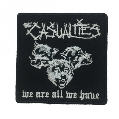 the-casualties - We Are All We Have Wolves Patch