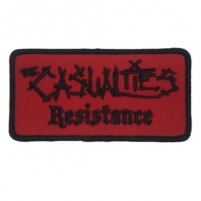 the-casualties - Embroidered Resistance Patch