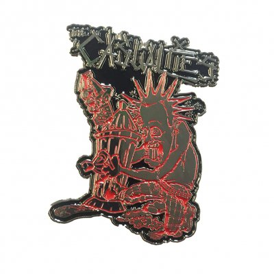 the-casualties - 40oz Punker Enamel Pin
