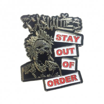 the-casualties - Stay Out Of Order Enamel Pin