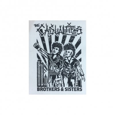 the-casualties - Brothers and Sisters Canvas Patch