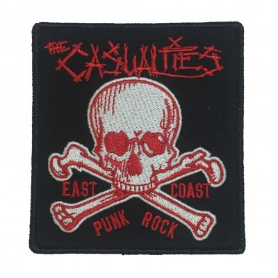 the-casualties - East Coast Skull Patch