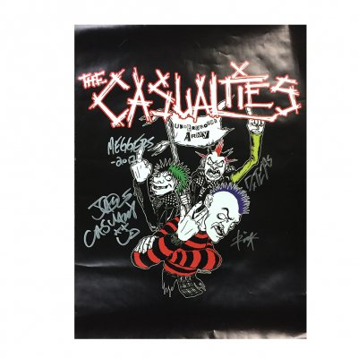 the-casualties - Signed Underground Army Poster
