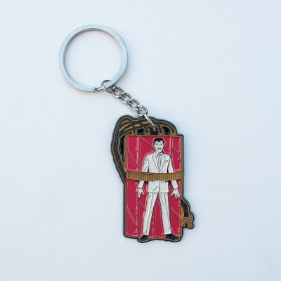 screeching-weasel - Wiggle Key Chain