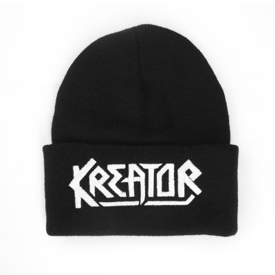 Embroidered Logo Beanie (Black)
