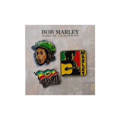 Bob Marley - Enamel Pin Collection 1