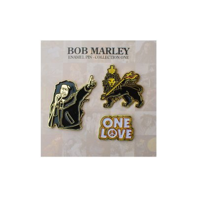 Bob Marley - Enamel Pin Collection 2