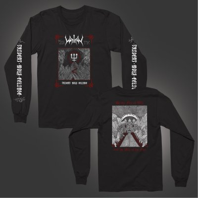 watain - Trident Wolf Eclipse Long Sleeve (Black)