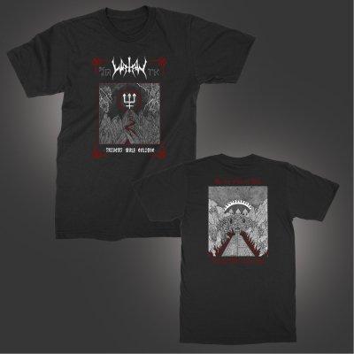 watain - Trident Wolf Eclipse T-Shirt (Black)