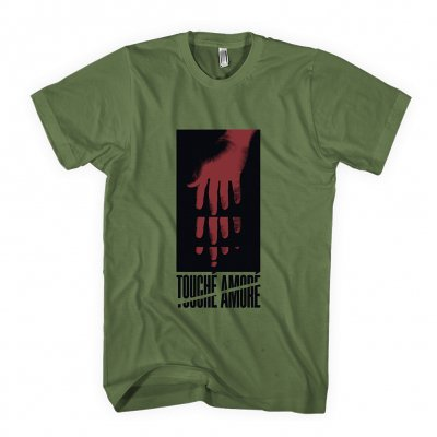 touche-amore - Hand Reach Tee (Army Green)