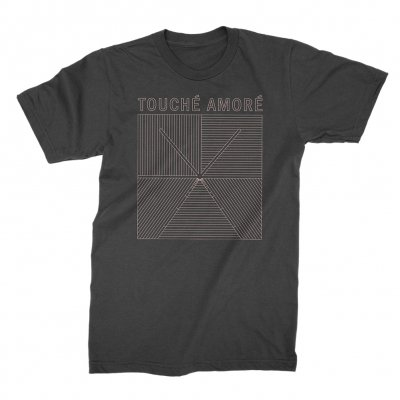 touche-amore - Lines Logo Tee (Black)