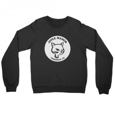 joyce-manor - Winking Cat Crewneck Sweatshirt (Black)