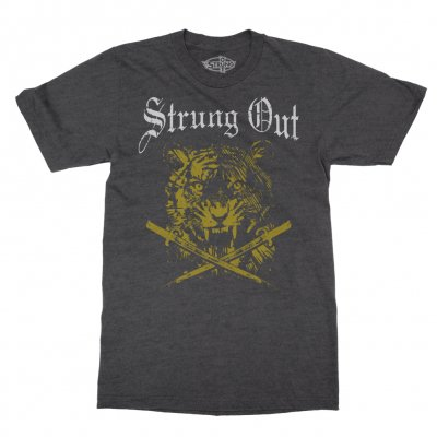 strung-out - Limited Edition Tiger Tee (Gray)
