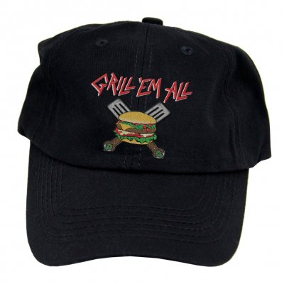 grill-em-all - Spatula Logo Dad Hat (Black)