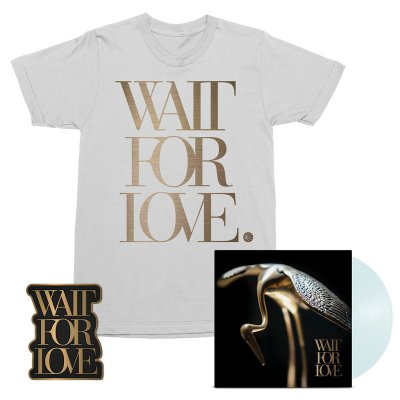 pianos-become-the-teeth - Wait For Love LP (Clear) + Tee (White) + Enamel Pin Bundle