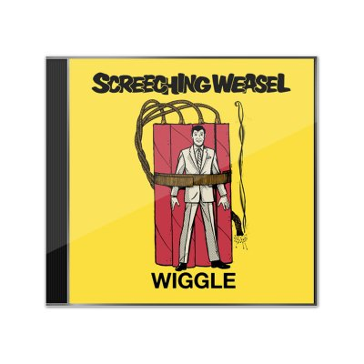 screeching-weasel - Wiggle CD (Ltd Edition - Signed)