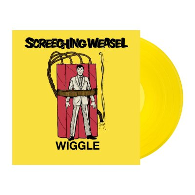 screeching-weasel - Wiggle LP (Yellow)