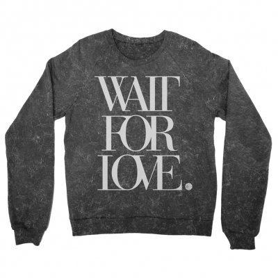 pianos-become-the-teeth - Wait For Love Crewneck (Marble Dye)