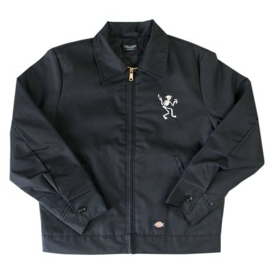 Skelly Old English Work Jacket (Black)