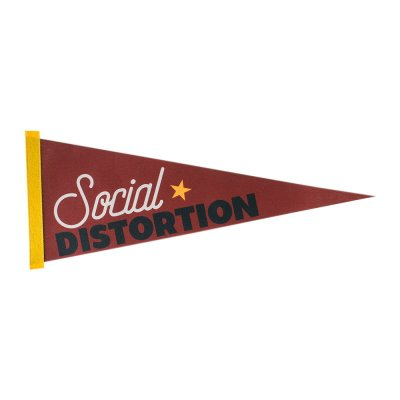 social-distortion - Old School Pennant