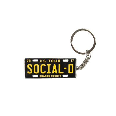 social-distortion - License Plate Key Chain